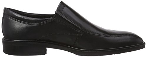 Ecco Illinois, Mocassins Homme Noir (1001Black)