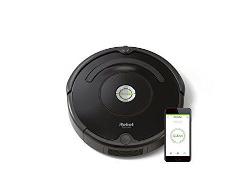 iRobot Roomba 671 Saugroboter (hohe Reinigungsleistung mit Dirt Detect, für alle Böden, geeignet bei Tierhaaren, WLAN-fähig) schwarz