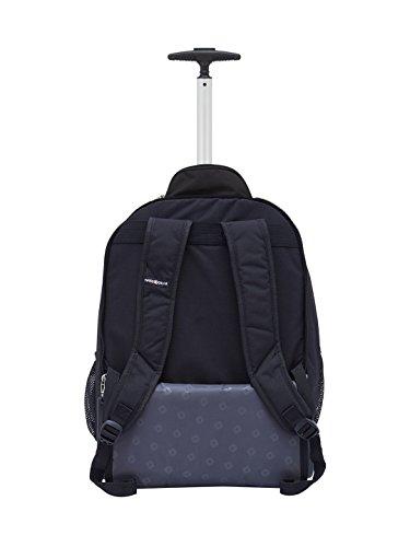 "Swiss Gear 18.5"" Rolling Computer Backpack 38 L Trolley Laptop Backpack (Black) Image 2"