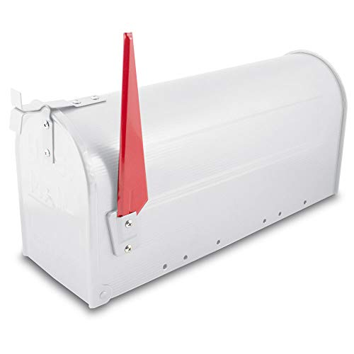 US Mailbox Amerikanischer Briefkasten Standbriefkasten Wandbriefkasten Letterbox Weiß