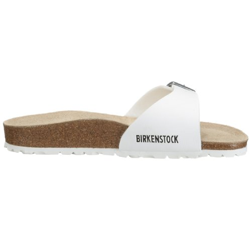 Birkenstock Classic Madrid Birko-Flor Unisex-Erwachsene Pantoletten white (040731)