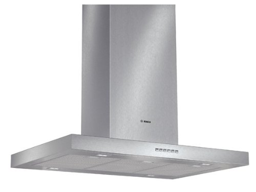 Bosch DIB097A50 Serie 4 Inselhaube / 90 cm / Wahlweise Abluft- oder Umluftbetrieb / edelstahl