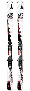Pack ski Atomic Whiteout ETL + Atomic Ezytrack 10 Black White - 153