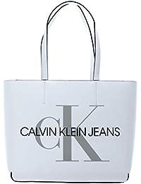 Calvin Klein Bolso Yaf 29 blanco de piel sintética