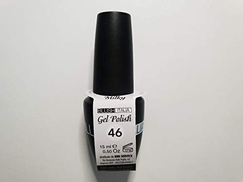 Gel Polish 15 ml semipermanenti Blush Italie 96 couleurs ultra coprenza maximale durée (46 – Milk)