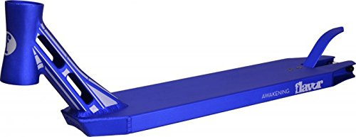 Flavor 2014 VII awakening Stunt-Scooter integrated street 54 cm Deck Blau