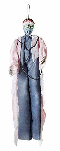 Psycho Doktor Kostüm - Boland 73013 Dekoration Doktor, 190