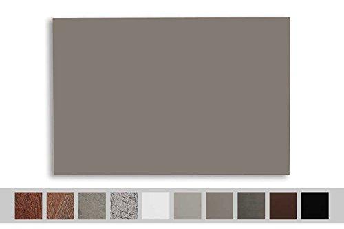 Chauffage à infrarouge warmset de 400W Panneau rayonnant à mural facile Montage pour zones jusqu'à 8m² Panneau infrarouge WHP G basic line pour chauffage avec surface uniforme gris