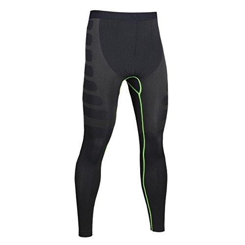 Skin Tights Leggings Base Layer Herren Fitness Running Gym Workout Sports Compression Hose (Kostüme Running Herren)