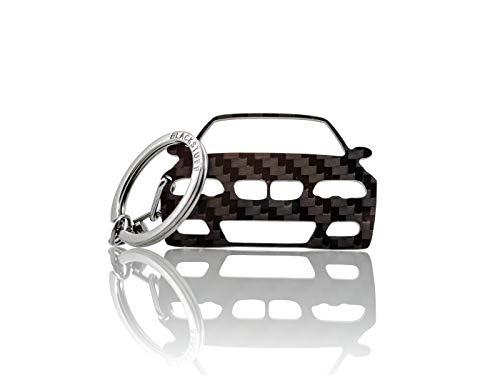 BlackStuff Carbon Fiber Keychain Keyring Ring Holder for sale  Delivered anywhere in UK