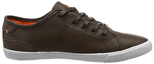 Boxfresh Herren Mitcham SM Lea/Sde DK Brn/Org Sneakers Brown (Dark Brown/Orange)