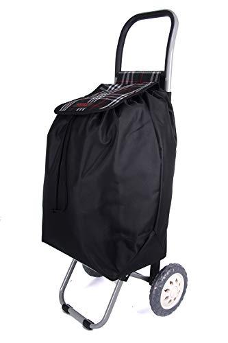82b2707137e Lorenz Accessories 6964 - Carrito de la compra de dos ruedas (36
