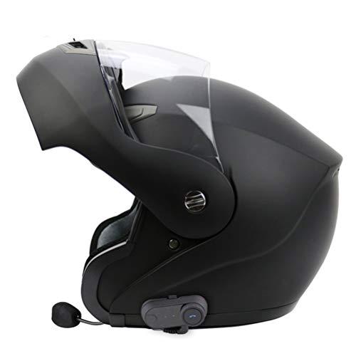 Erwachsene Bluetooth Motorrad Motorrad Helm Off-Road Flip Up -