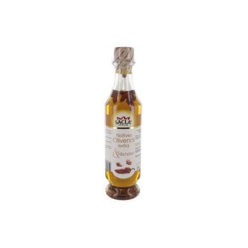 Sacla Natives Olivenl Extra Mit Chilischoten 250ml