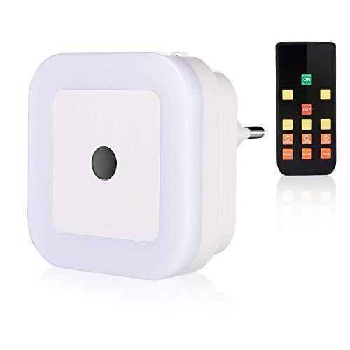 SOAIY - Luz nocturna LED bebé mando distancia, luz