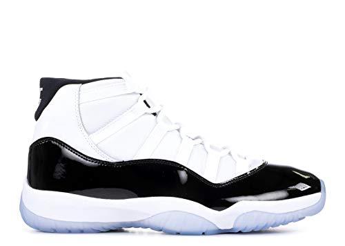 Air Jordan 11 Portschuhe Herren Laufschuhe Damen Turnschuhe Freizeitschuhe Atmungsaktiv Sneakers Mode Straßenlaufschuhe (39, Klassisches Schwarz und Weiß)