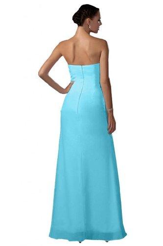 Lemandy - Robe -  Femme Bleu - Light Sky Blue