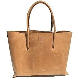 Shopper Leder/Shopping bag /Ledershopper/großer Shopper/Naturleder Ledertasche used look Leder Vintage Tasche Handmade robust und strapazierfähig