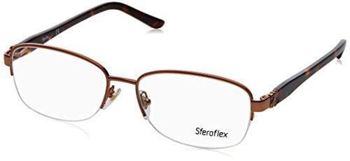 STEROFLEX Brillengestell SF 2571 488 Kupfer 54MM