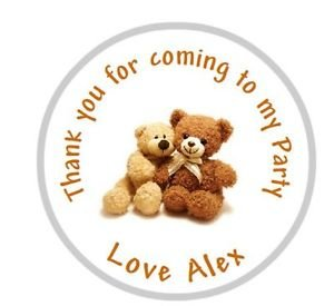 personalised-cute-teddy-bear-birthday-party-goody-bag-sweet-cone-stickers