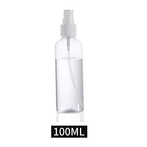 XINJIA Nachfüllbare Kunststoff Feinnebel Parfüm Sprühflasche Transparent Leere Sprühnebel Pumpe Flasche Kleine Flaschen (Sprühflasche Einzelne)