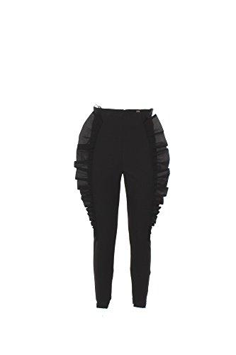 Pantalone Donna Elisabetta Franchi 40 Nero Pa9753867 1/7 Primavera Estate 2017
