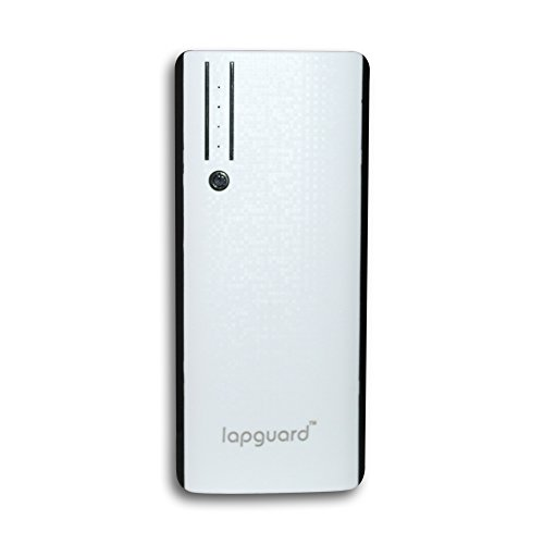 Lapguard Sailing-1520-10K Low 10000MAh Power Bank for All Mobiles, Tablets (White-Black)