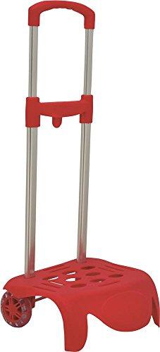 Sport andem, pesa bagaglio rosso Rojo