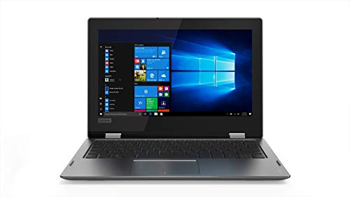 "Lenovo Yoga 330-11IGM - Ordenador portátil Convertible de 11,6"" HD (Intel Celeron N4000, 4GB RAM, 128GB SSD, Windows 10) Gris. Teclado QWERTY español"