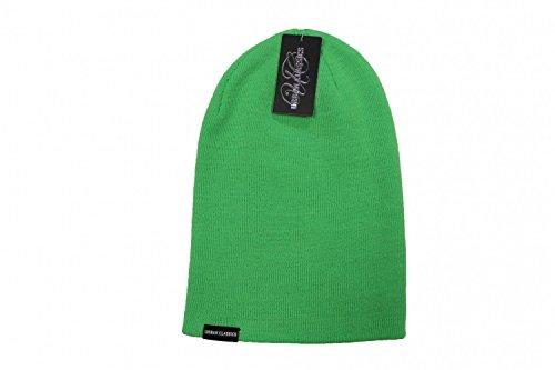 Urban Classics Long Beanie, Bonnet Mixte Vert