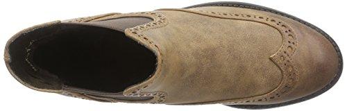 Marco Tozzi 25318, Bottes Chelsea courtes, doublure froide femme Marron - Muscat antique (340)
