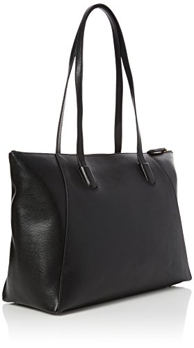 COCCINELLE CLEMENTINE DOUBLE SHOULDER BAG AF5110101 Nero (Noir)