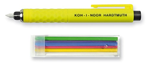 Koh-I-Noor S128PN8004BL Schneiderkreidestift, Kunststoff, farbig sortiert