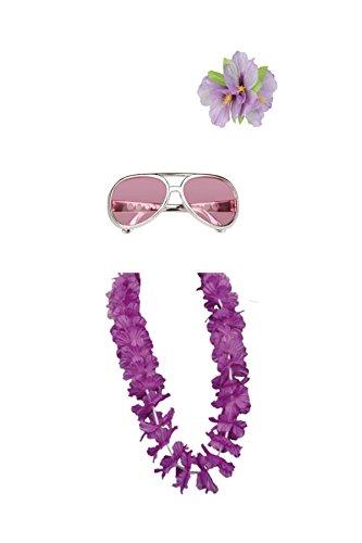Preisvergleich Produktbild Mädels Schlagerparty Set lila