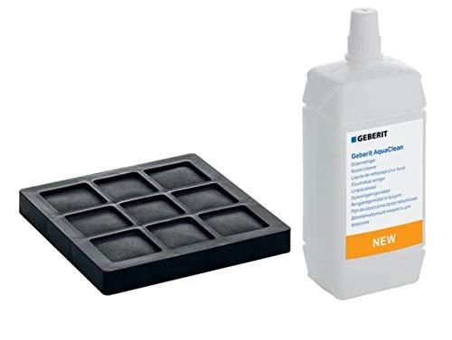 Geberit AquaClean Filtro ai Carboni Attivi e detergente ugelli