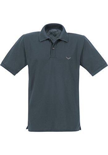 Trigema Trigema Damen Polo-shirt Deluxe Piqué - Polo - Femme Grau (anthrazit 018)