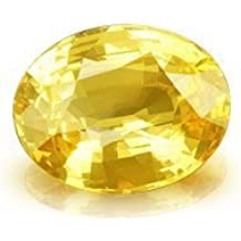 Luxurious Oval Cut Yellow Sapphire (Pukhraj) Stone 5.00 Ratti Gemstone
