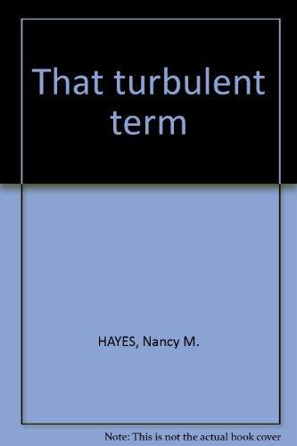 That turbulent term