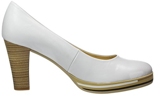 Gabor Damen Fashion Pumps Weiß (weiss 21)
