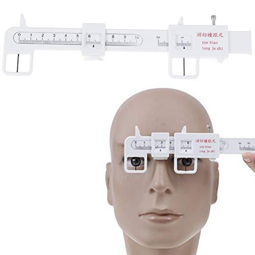 Bloomeet 1 x optisches Messgerät PD Lineal Pupillen-Entfernungsmesser Augen-Augen-Augen-Augen-Augen-Augen-Augen-Werkzeug