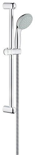 Preisvergleich Produktbild GROHE Tempesta 100 | Brausen- und Duschsysteme - Brausestangenset |600 mm, 2 Strahlarten, feste Bohrlöcher zur Befestigung, chrom | 27598000