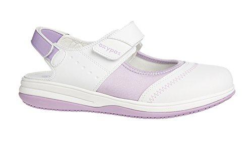 Oxypas Medilogic Melissa Slip-resistant, Antistatic Nursing Shoes in White Size EU 36 / UK 3 Weiß (lic)