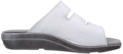 Gevavi - 3201 Bighorn Slipper Weiß   36, Zoccolo da donna bianco (Weiß  (weiss (wit) 01))