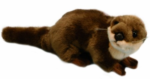 Otter - DeLuxe Woodland Animal Soft Toy