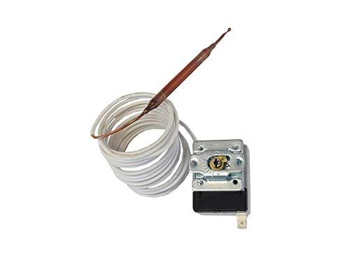 Kapillarrohr Thermostat Fühler 2m -35°C bis +35°C - Kapillarrohr-thermostat