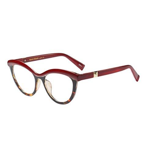 Lefu Frauen Männer Retro Runde Lesen Nicht Verschreibungspflichtige Brillen Dauerhaft