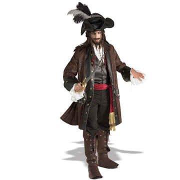 LUXUS Piratenkostüm Kostüm Pirat Theaterqualität M/L