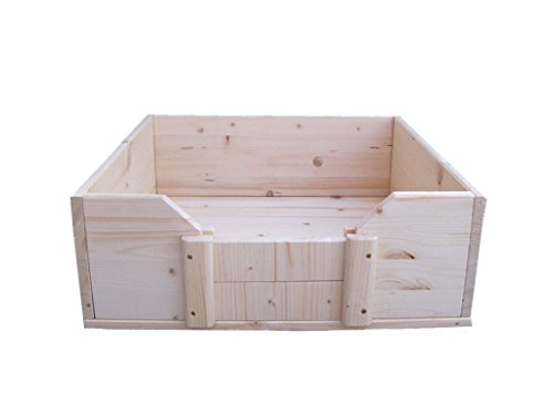 Artikelbild: Easy-Hopper Wurfbox / Welpenbox / Schlafplatz 'Standard' 60x60x22cm