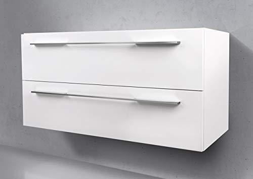 Intarbad - Waschtisch Unterschrank zu Villeroy & Boch Subway 2.0 100 cm Waschbeckenunterschrank Hacienda Schwarz