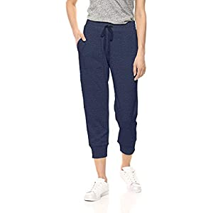 Amazon Essentials Damen-Jogginghose, Studio Terry, Capri-Hose